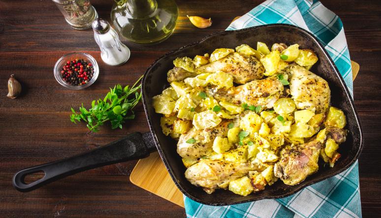 Zemiakový šalát – ide to aj bez majonézy